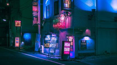 Neon Dreams by Matthieu Bühler