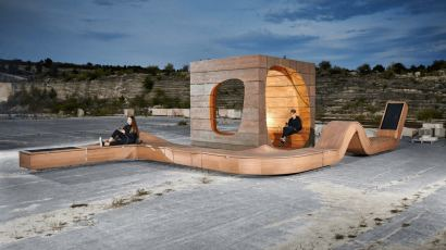 Smart Public Furniture by Hello Wood