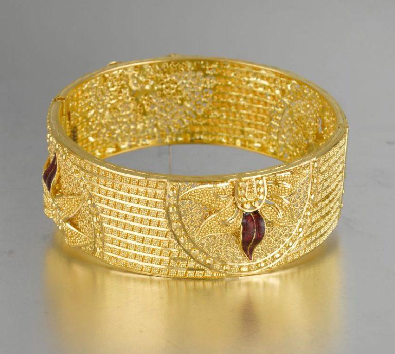 Gold Bangle Bhima Jewellers