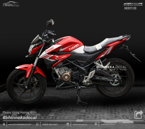 DECAL STICKER CB 150 R 2019 DESAIN RED ENERGITY-012