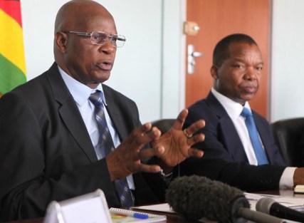 Minister Chinamasa and RBZ Govenor Dr Mangudya