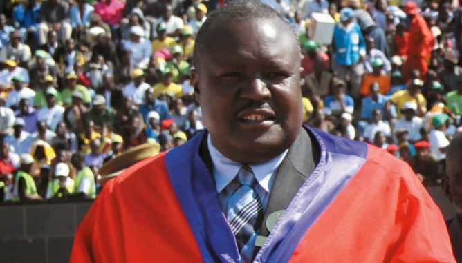 A Zimbabwean Chief Campaigns To Create Jobs For Africa