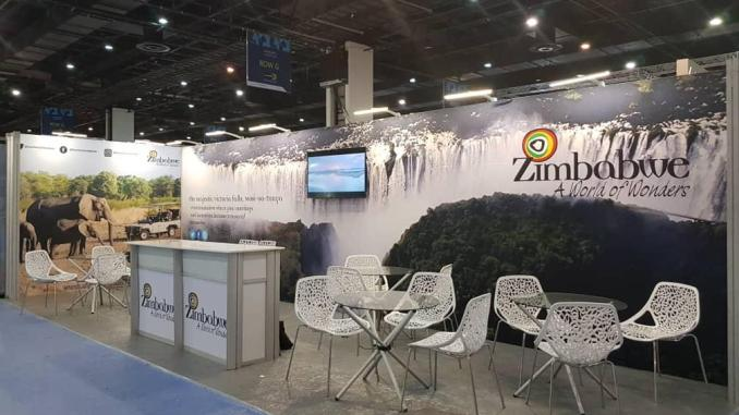 Zimbabwe Tourism Exhibits at Meetings Africa