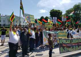 Zimbabwe Government Dispatches Over 200 Buses to Ferry People for the Anti-Sanction March