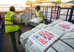 UK Offers Humanitarian Aid to Benefit A Hundred Thousand People; Two Quarantine Facilities