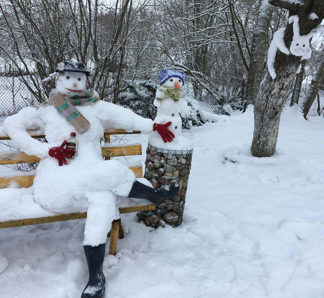 10 Of The Most Creative Snowmen Bhllfo