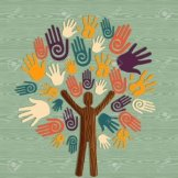 global-diversity-man-as-trunk-tree-hands-illustration-file-layered-for-easy-manipulation-and-custom