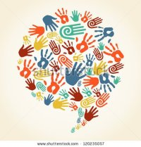 stock-vector-diversity-multi-ethnic-hand-prints-in-social-speech-bubble-shape-vector-file-layered-for-easy-120235057