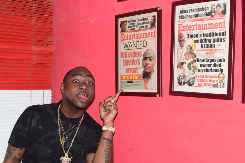 Davido and his NET cover