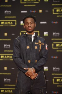 The artist Koredo Bello at the red carpet during the MAMA 2016, in Johannesburg, South Africa on October 22nd, 2016