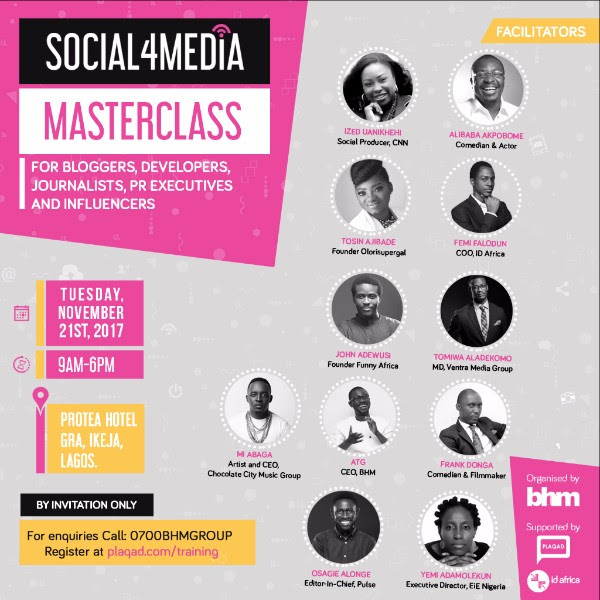 BHM Hosts Social Media Training For Bloggers, Journalists, Developers And Influencers - Brand Spur