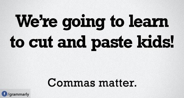 Meme Monday: Comma Sense