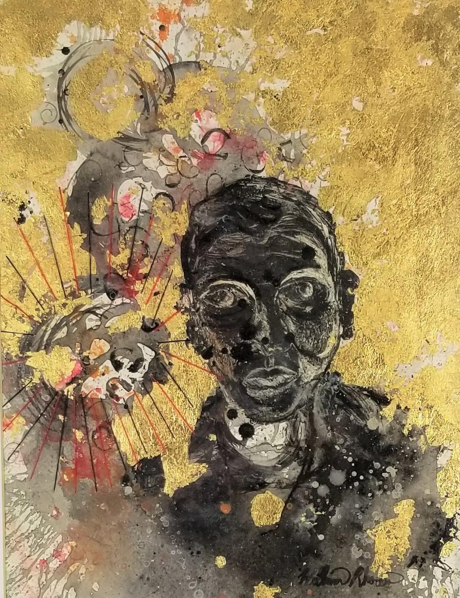 """""""Self Portrait #10"""" (DETAIL)"""