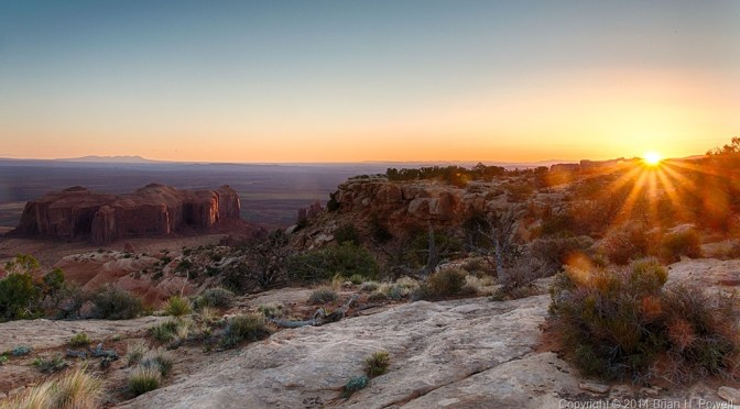 Hunt's Mesa, and back to Monument Valley for a Lunar Eclipse