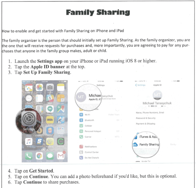 BYOD_family sharing