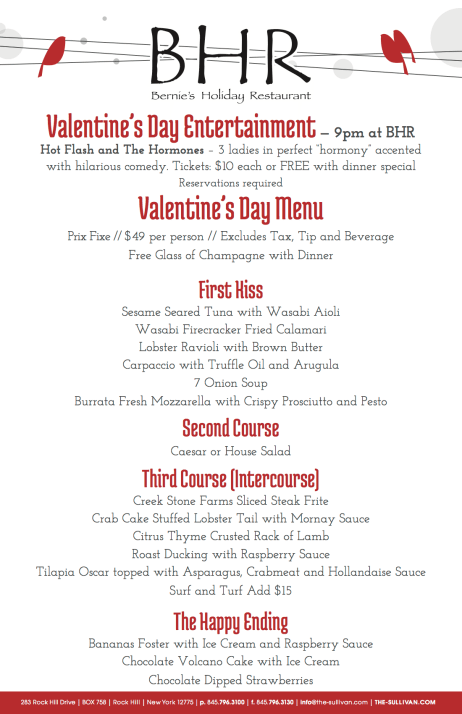 BHR-2014-Valentine's Day Menu