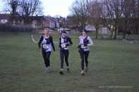 Janet, Jan and Sally at the Senior X-Country Champs 2015