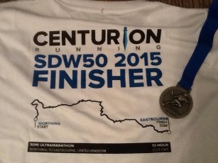 SDW 50 - medal and t-shirt