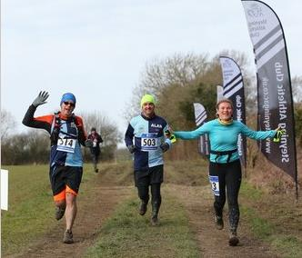Catherine, Alan and Jay at the Stinger Half