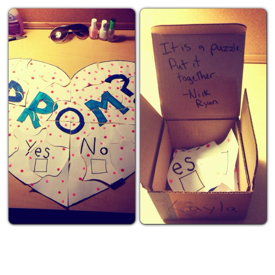 BHS Blueprint How To Ask A Girl To Prom 2013