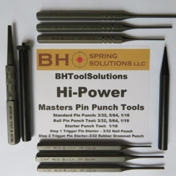 """MASTERS"" PIN PUNCH TOOLS KIT"
