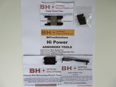 BHSS Armorers Tools Kit for Hi-Power