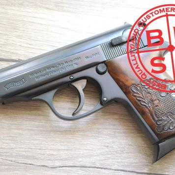 Walther PPK Hand Engraved Masters Grips