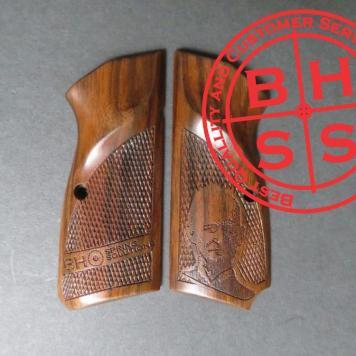 HiPower BHSignature Masters Grips w. Lanyard Cut