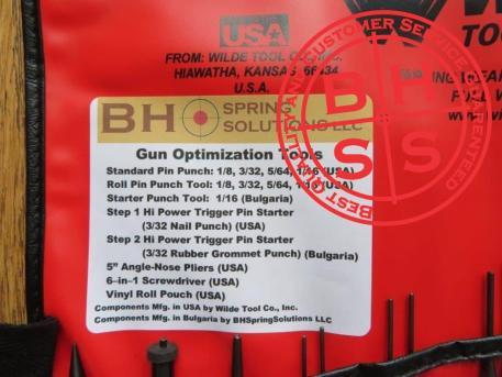 Gun Optimization Tools Kit