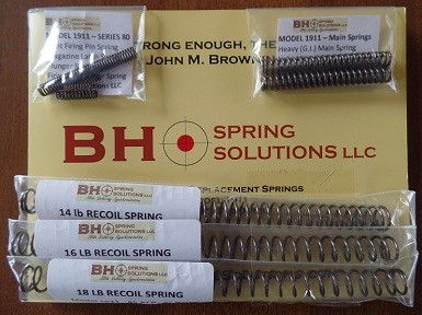 1911 Series80 Tune-Up and Optimization Spring Kit