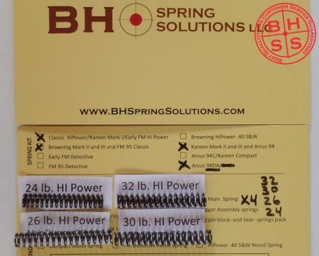 HiPower Main Springs Pack