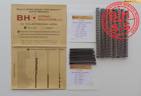 High Performance Recoil/Main Spring Kit for CZ75/B/BD and clones