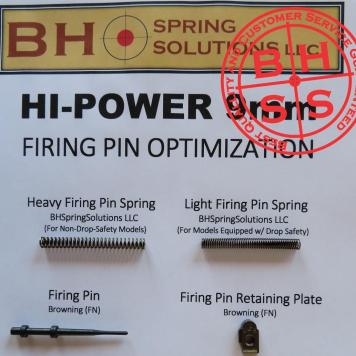 HiPower 9mm Firing Pin Optimization Kit light