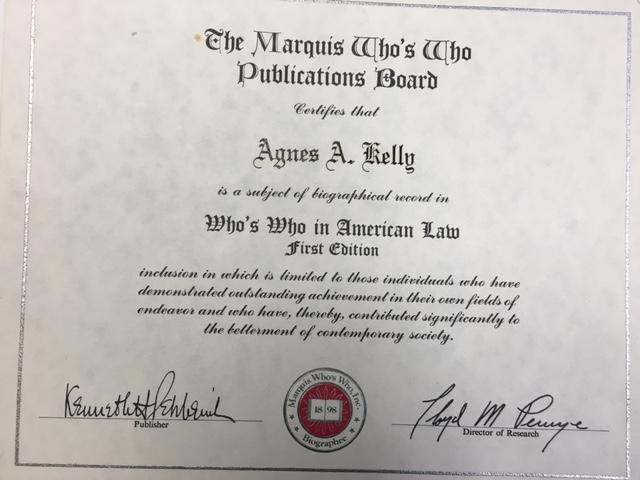 The law school diploma of Agnes Kelley, the first woman to graduate with one in the state of Ohio. | Photo: Courtesy