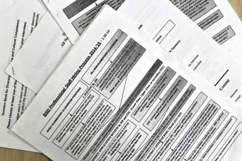 Documents obtained by the Register show the hiring process in 2014 under Interim Superintendent Howard Smith. The removal of parents, students and teachers from hiring committees under Superintendent Yaw Obeng has sparked criticism. | Photo: Alexandre Silberman/Register