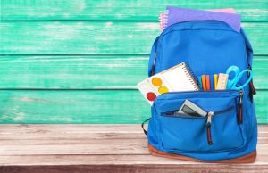 Heavy backpacks can lead to long-term health effects.