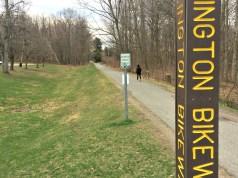 The Burlington Bike Path is undergoing extensive renovations. | Photo: Isabella Bucci/Register