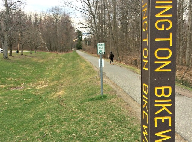The Burlington Bike Path is undergoing extensive renovations. | Photo: Isabella Bucci/Register