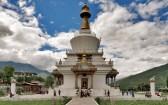 Бутанская ступа-храм