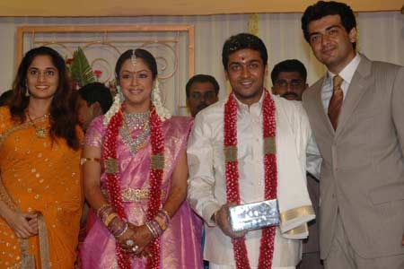 With Ajith and Shalini