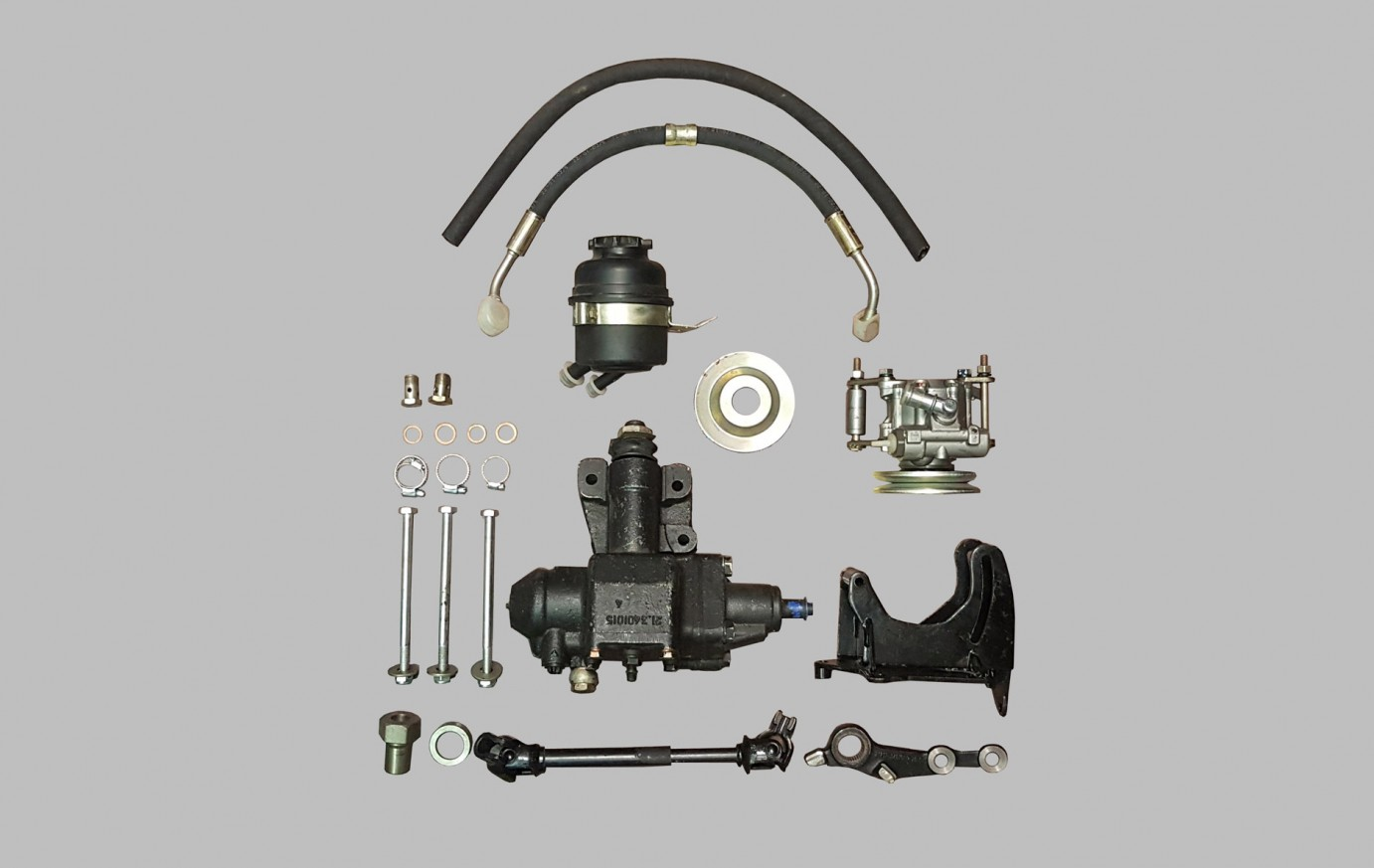 Steering Complete Set With Hydraulic Assistant Urban