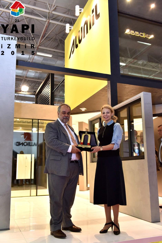 Altın Mıknatıs 1.'lik Ödülü Sahibi Alumil