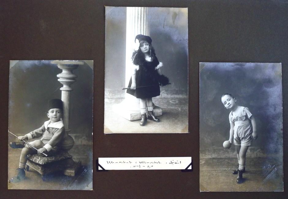 """Gündeliğin Belleği """"İstanbul, 10 Mart 1336- 10 Mart 1920, 5.5 yaş"""" Kaynak: Ömer Durmaz Arşivi"""