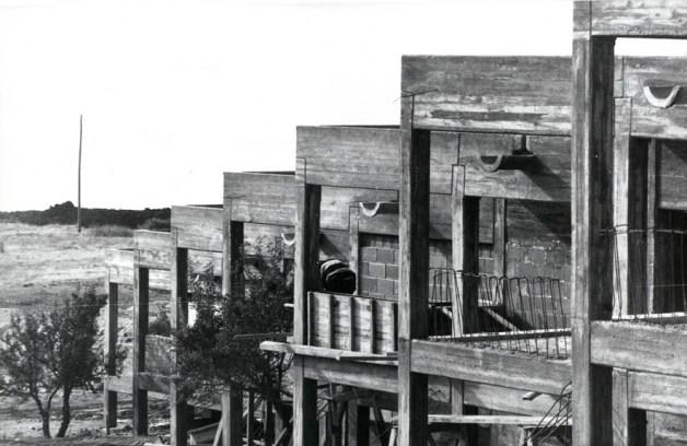 Ar-Tur inşa hâlinde, Burhaniye, Balıkesir, 1970 Özer Türk Arşivi