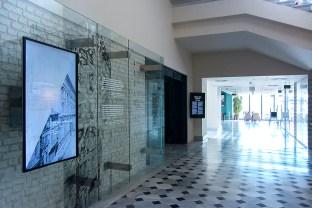 Genel Müdürlük Binasının Yapımı, Osmanlı Bankası Müzesi Koleksiyonu, SALT Galata, Giriş Katı, 2017 Fotoğraf: Mustafa Hazneci