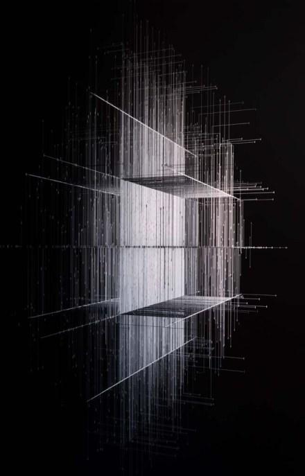 Alper Derinboğaz, Space Graph 3, 2018, Fotoğraf kağıdı üzeri dijital baskı,