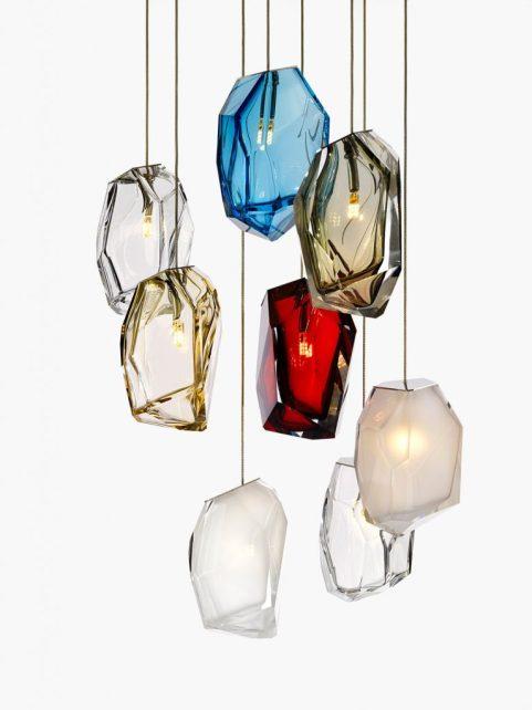 ARIK LEVI FOR LASVIT_Crystal Rock Light1