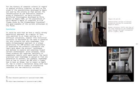 116. Sayfa, Technological Arts Preservation