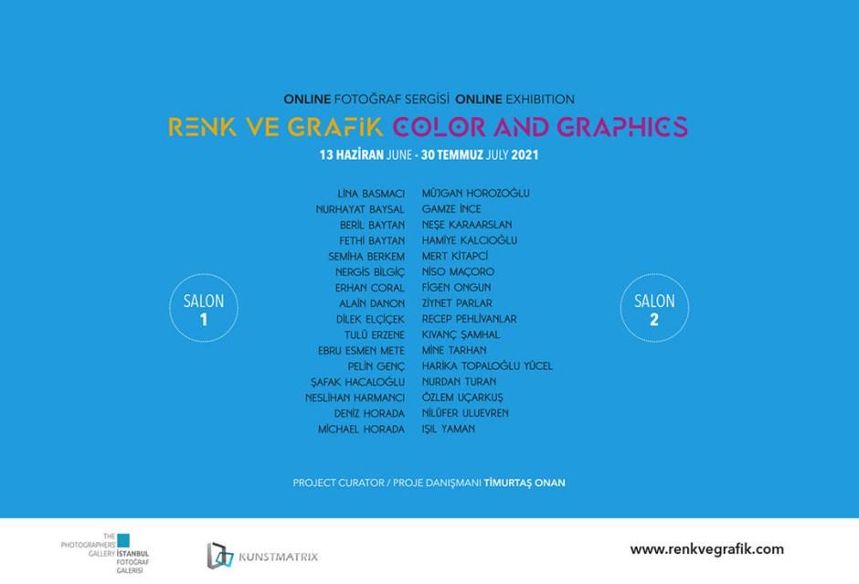 Renk ve Grafik Çevrimiçi Fotoğraf Sergisi