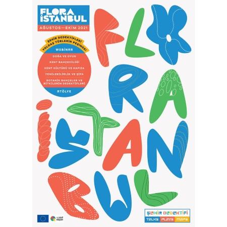 Flora İstanbul Poster - Şehir Dedektifi